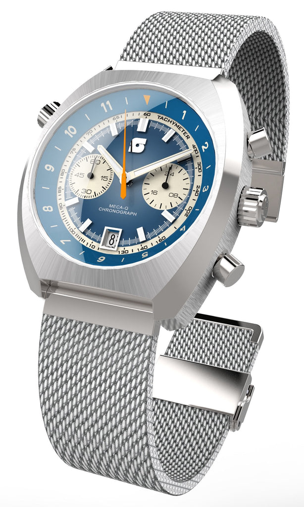 Straton Curve Chrono Blue - 39.5mm