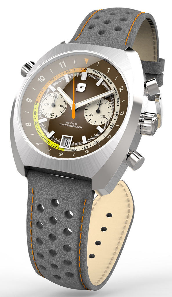 Straton Curve Chrono Brown - 39.5mm