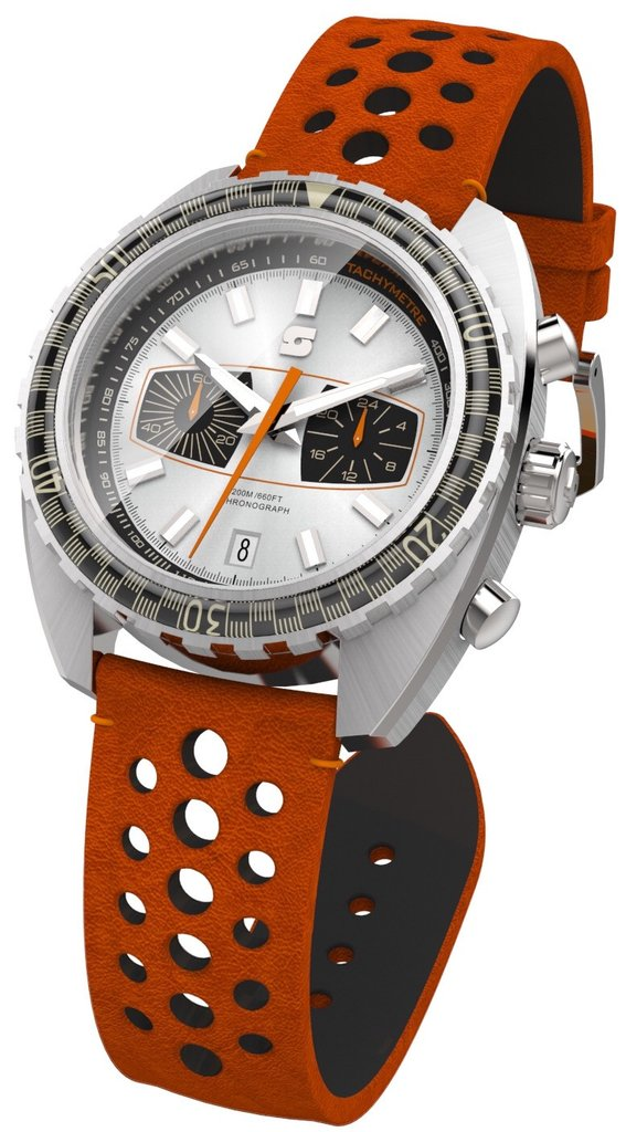 Straton Syncro Silver/Black - 40mm