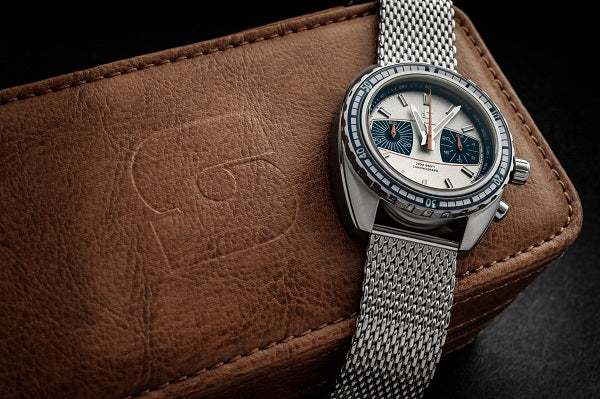 Straton Syncro Silver/Blue - 44mm