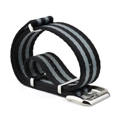 Haglund Strap Co. -Harjedalen Black/Grey