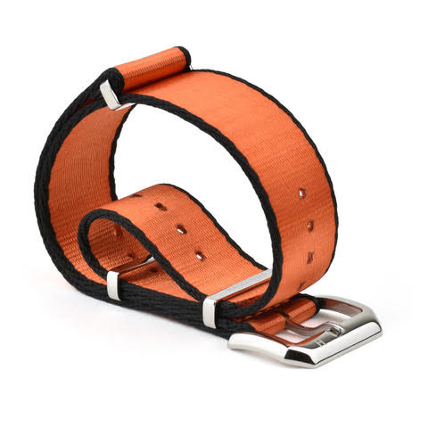 Haglund Strap Co. - Kalix Orange/Black