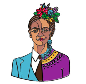 Dos Fridas Lapel Pin