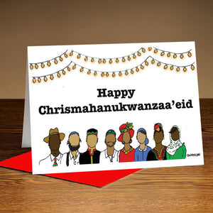 Multi-cultural Holiday Card