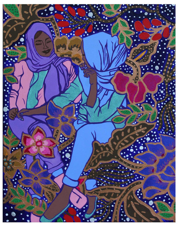 Love Amongst the Batik by Jenny Q