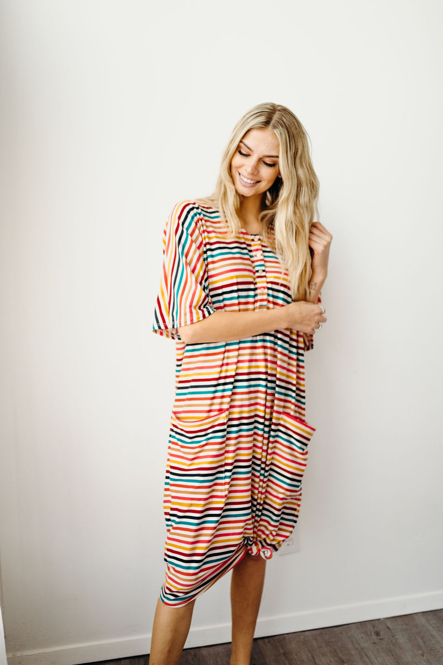 Candy Stripe Snap Silhouette