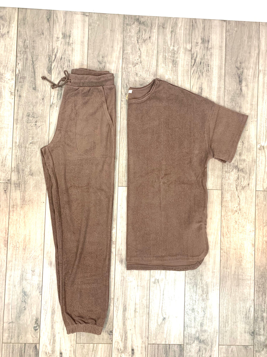 Terry Out Lounge Joggers