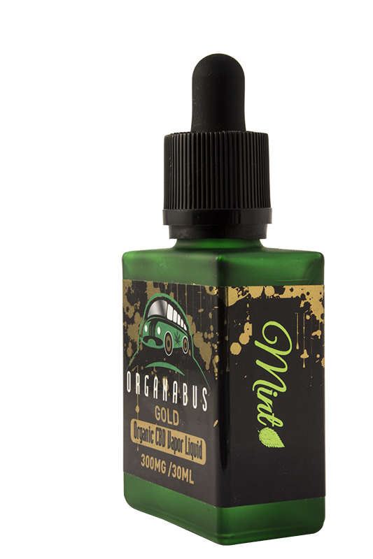Mint Gold CBD Vapor Liquid
