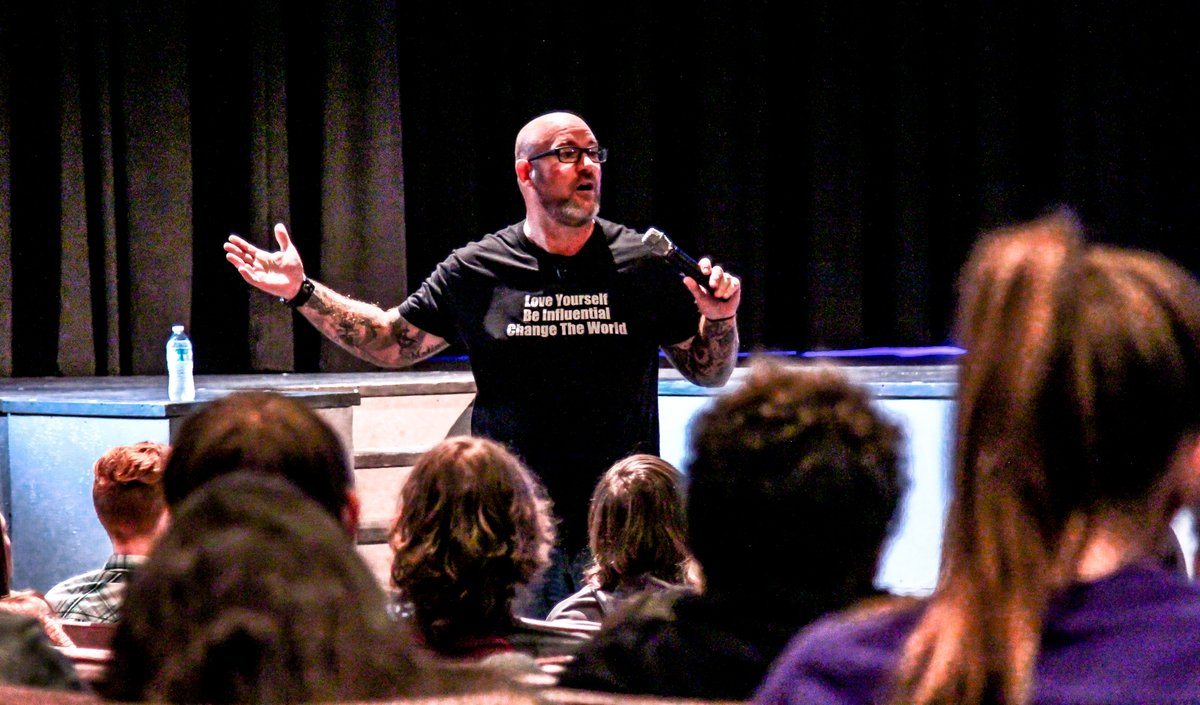 South Carolina High School Hosts Teen Mental Health Speaker Jeff Yalden