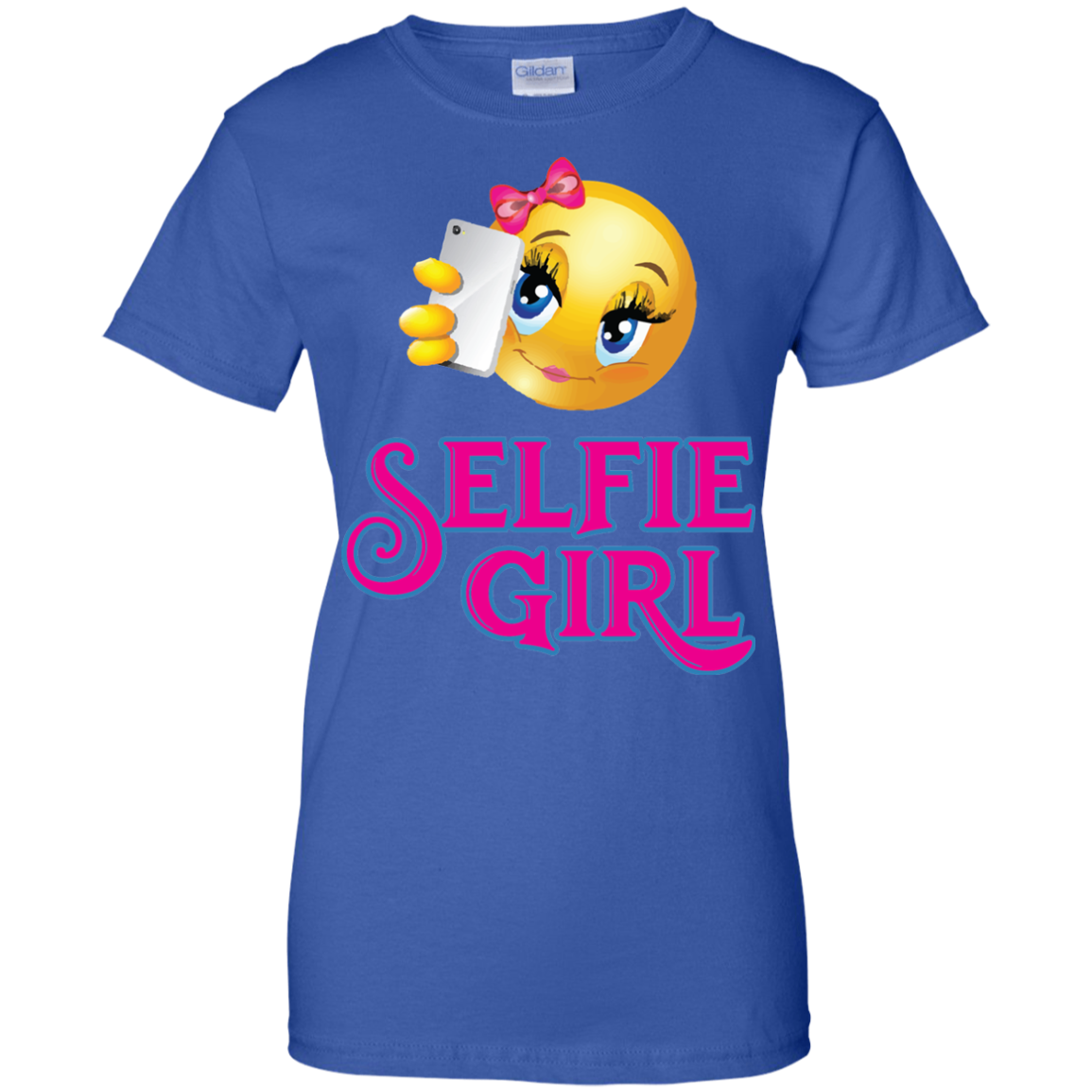 Selfie Girl Ladies' 100% Cotton T-Shirt