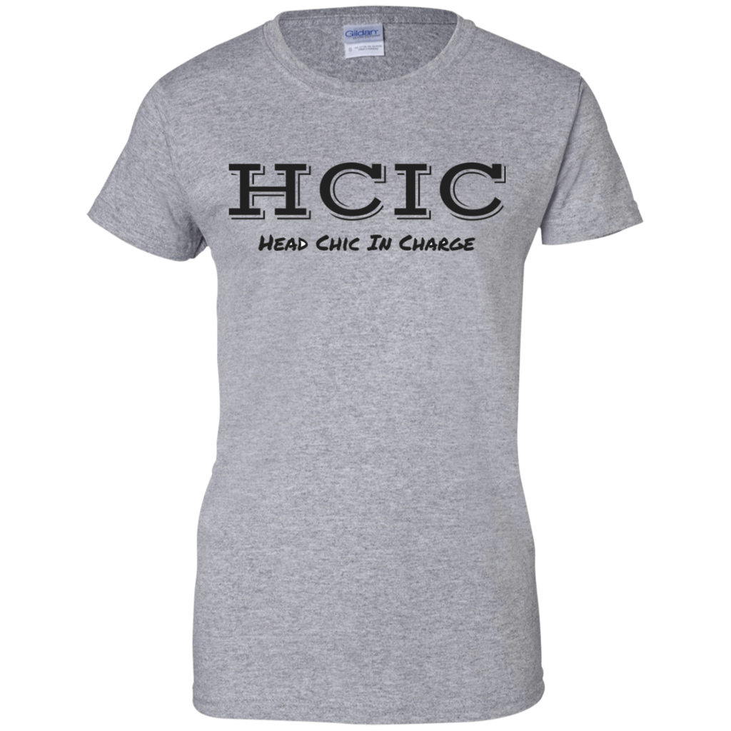 Head Chic In Charge Ladies' 100% Cotton T-Shirt
