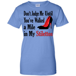 Don't Judge Me... Ladies' 100% Cotton T-Shirt