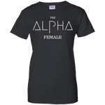 Alpha Female Ladies' 100% Cotton T-Shirt