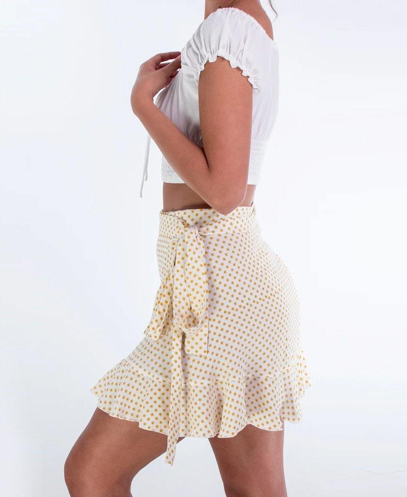 Abigail Skirt | Sunflower Yellow