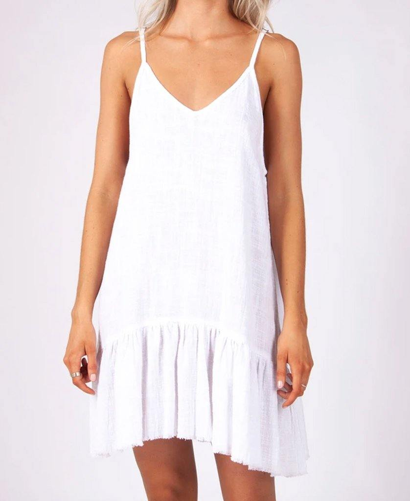 Amy Dress | White
