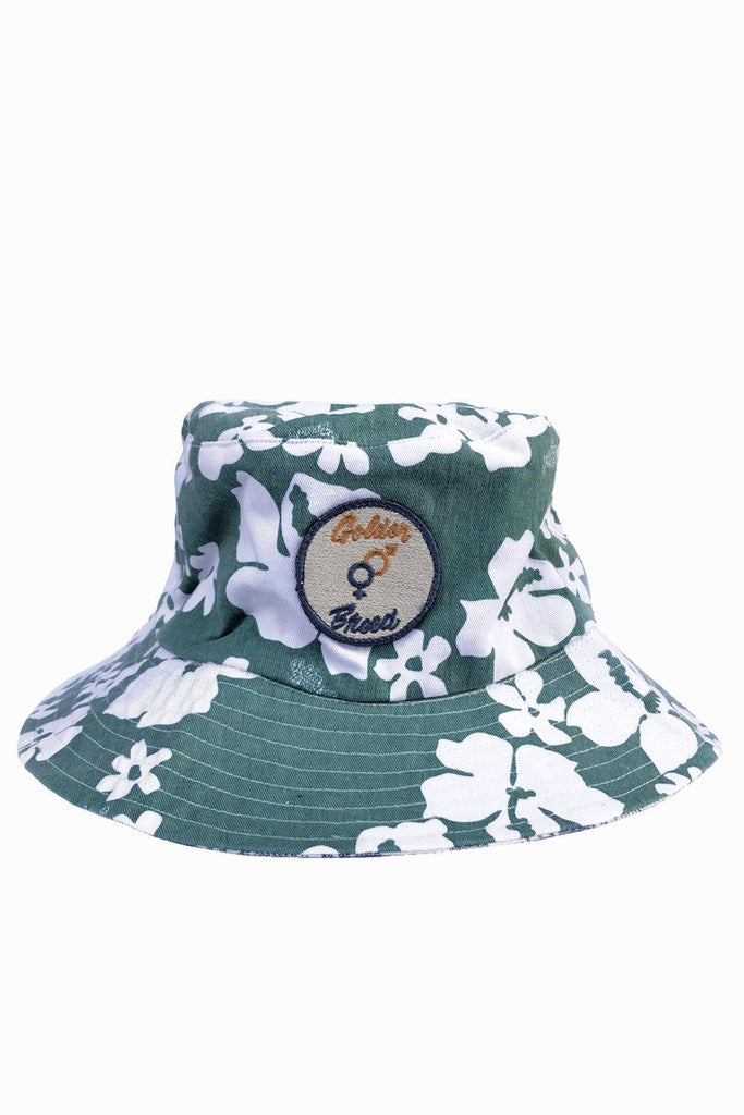 Barkly Floral Bucket Hat | Surf Green