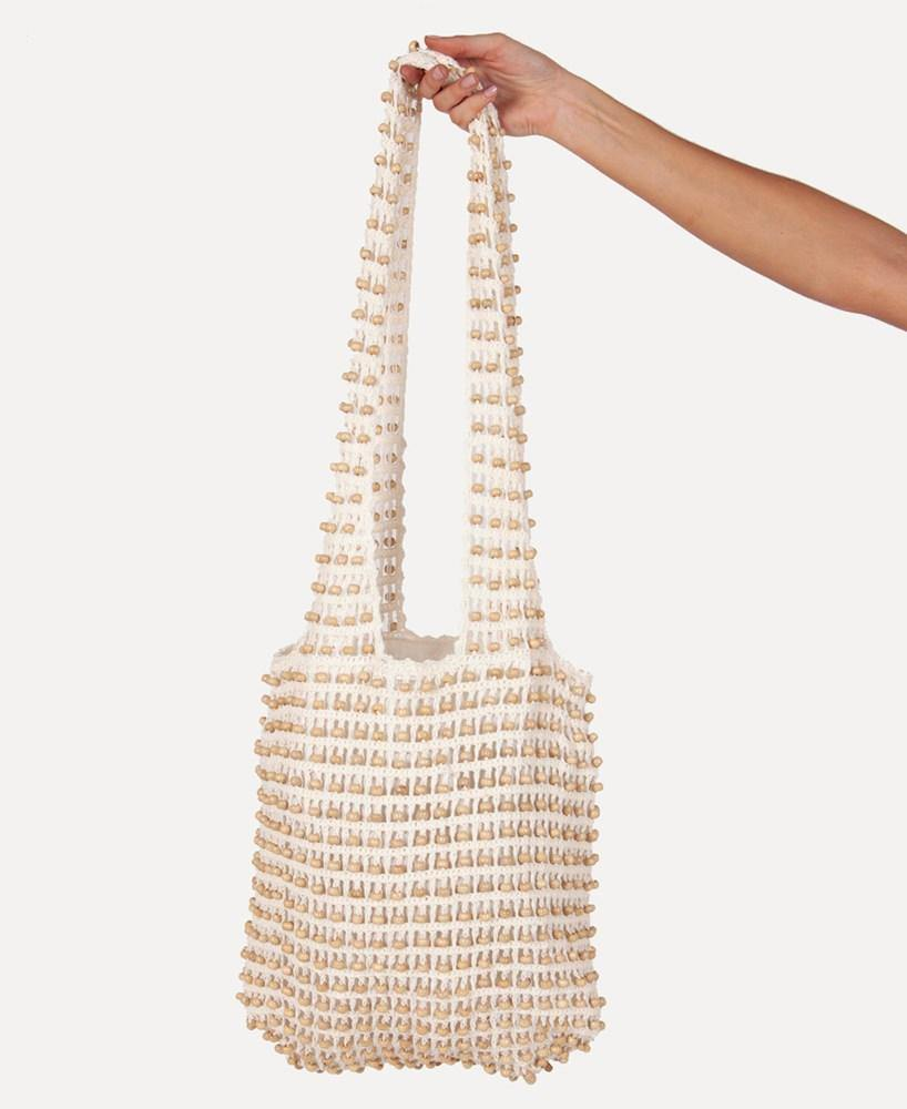Beaded Bag | Natural