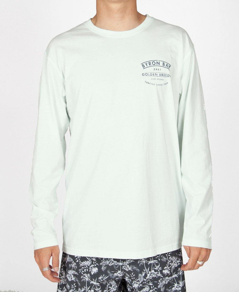 Byron Boards LS Tee | Ice
