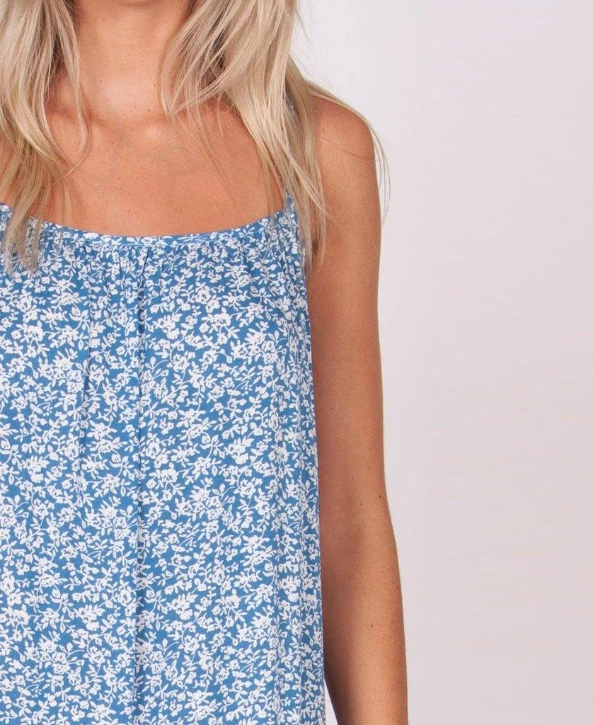 Camilla Dress | Wildflower Blue
