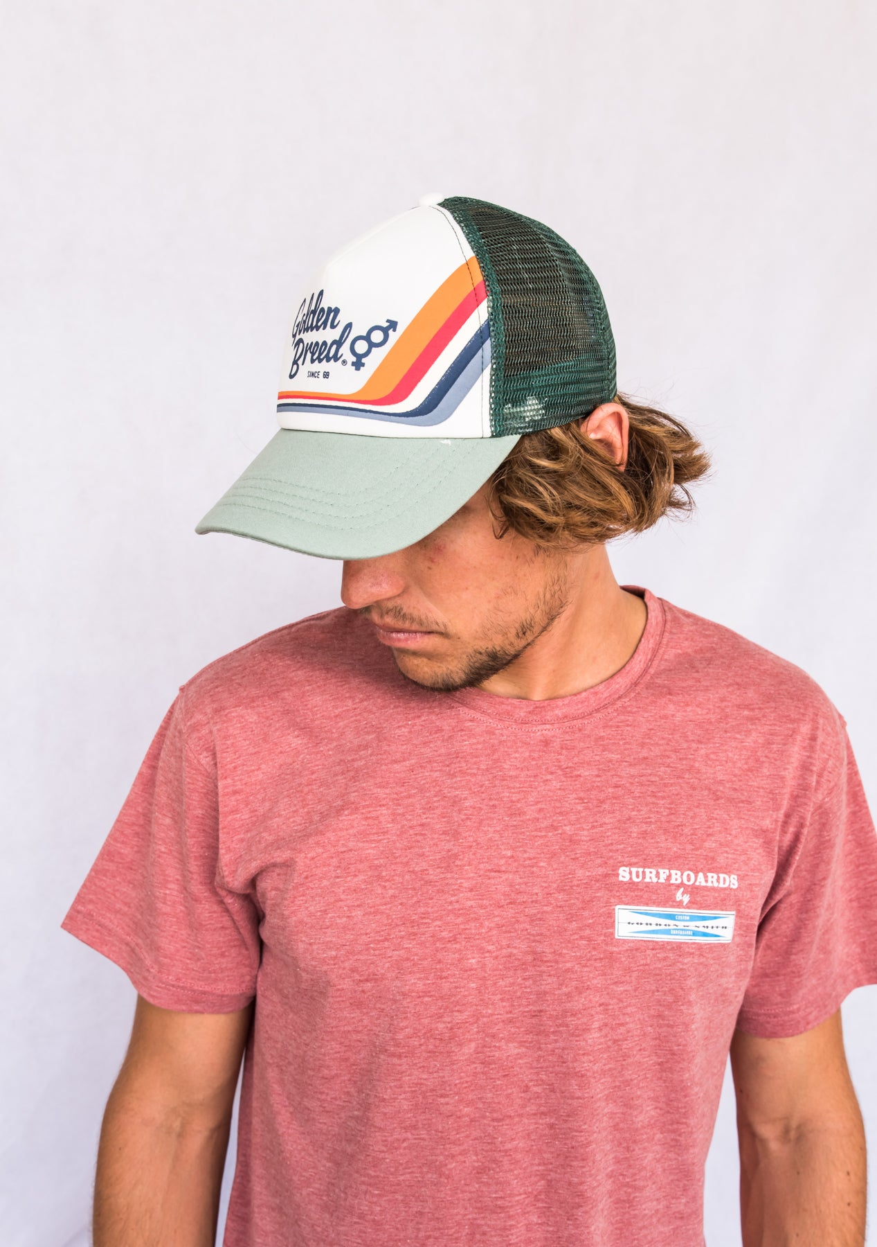 GB Retro Trucker Cap | Green