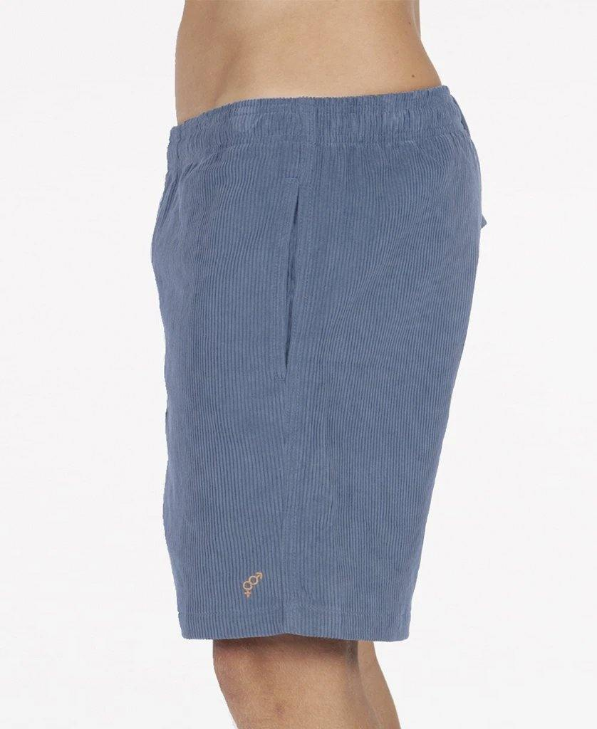 Floyd Elastic Waist Walkshort | Dusty Blue