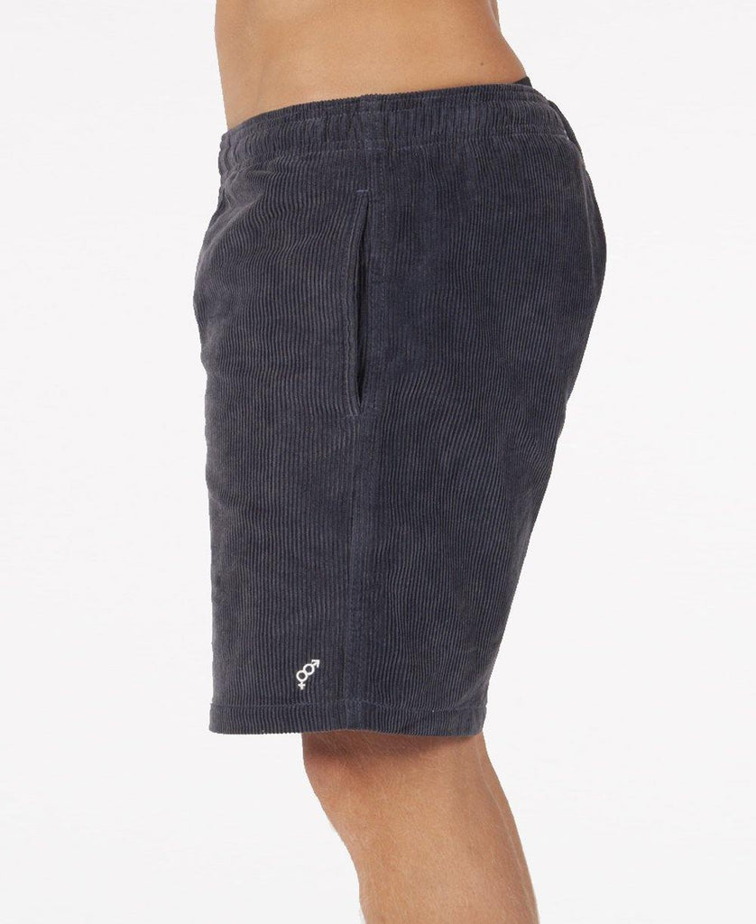 Floyd Cord Elastic Walkshort | Wash Navy
