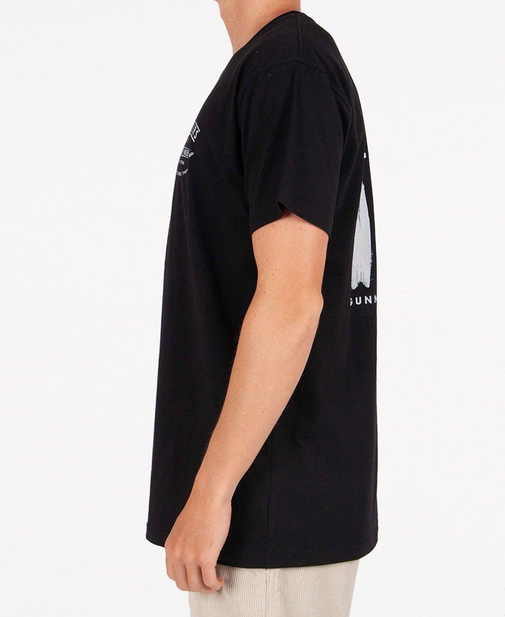 Flinders Boards Tee | Ink Black