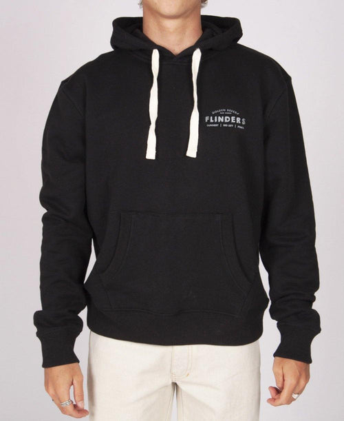 Flinders Boards Hoodie | Ink Black