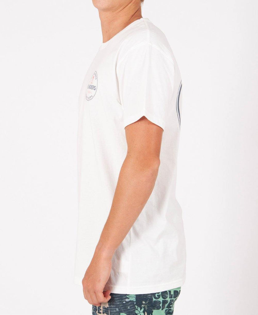 Flinders Kombi Tee | Off White