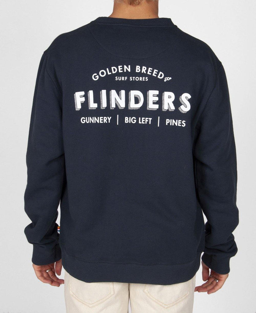 Flinders Old School Windcheater | Navy