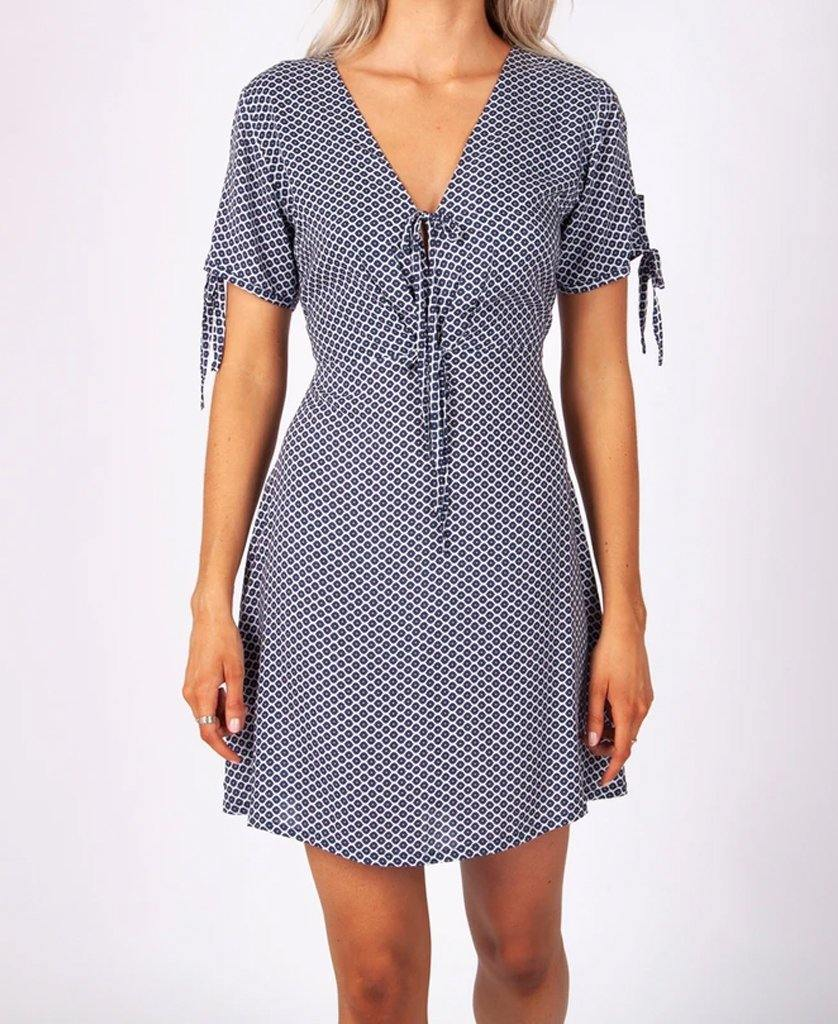 Fran Dress | Blue Star