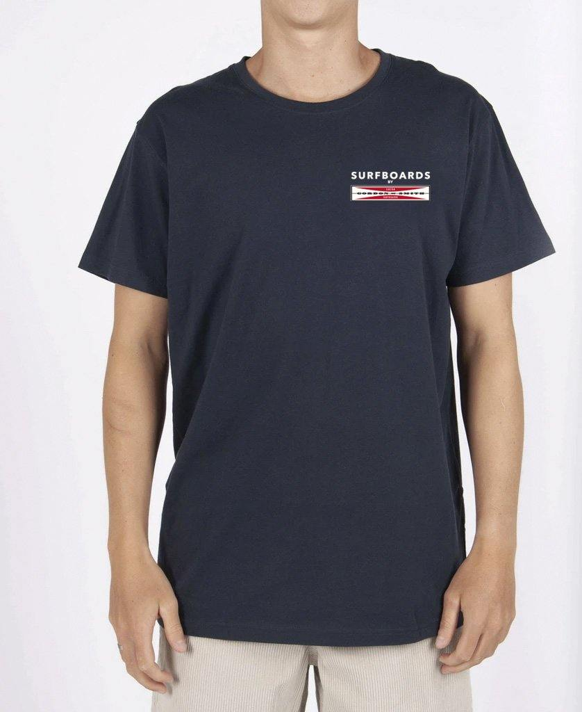 GS Scratch Tee | Navy