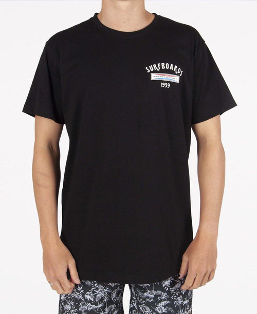 GS #2 Tee | Ink Black