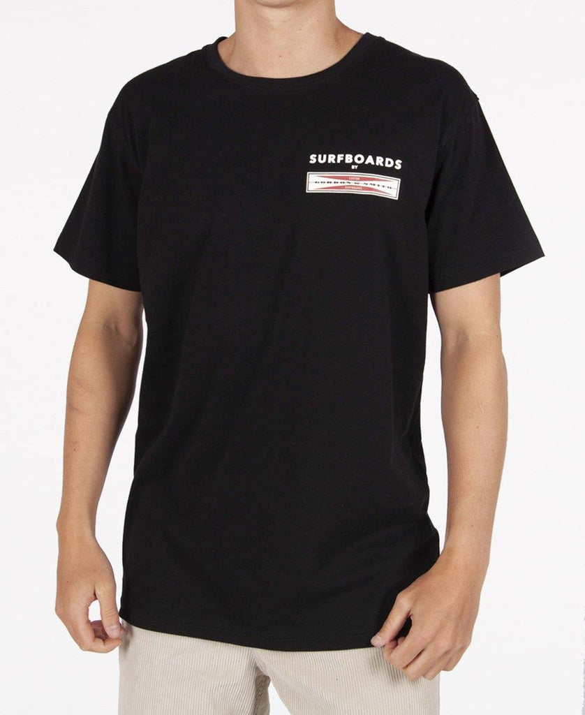GS Corp Logo Tee | Ink Black