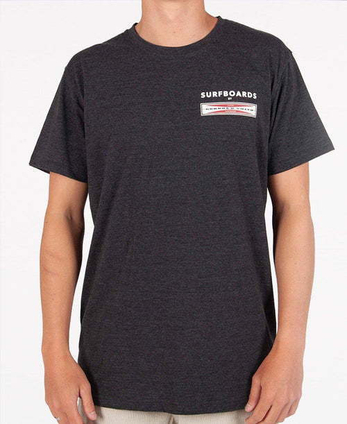 GS Corp Logo Tee | Charcoal Marle