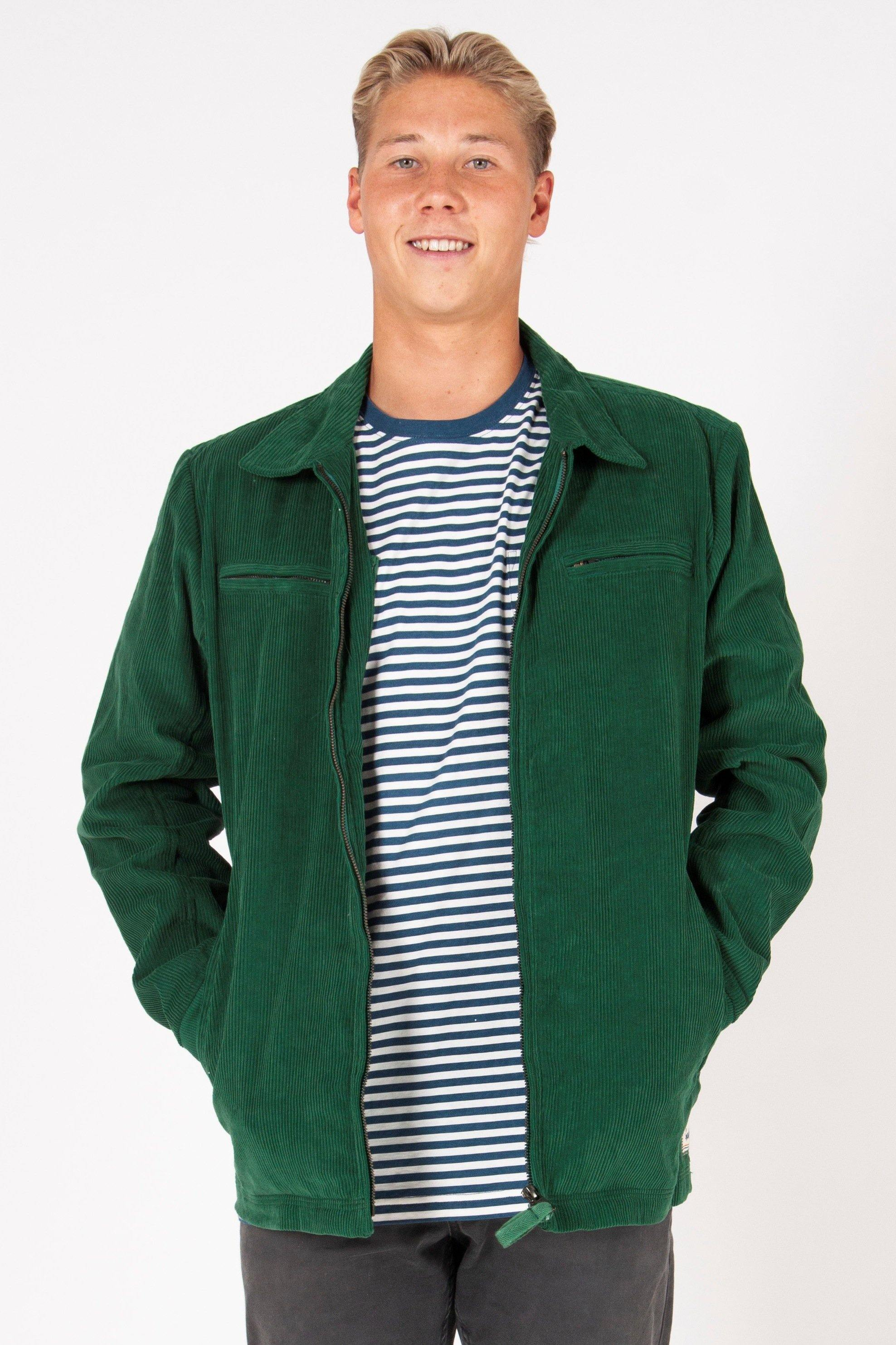 Cord Jacket | Hunter Green