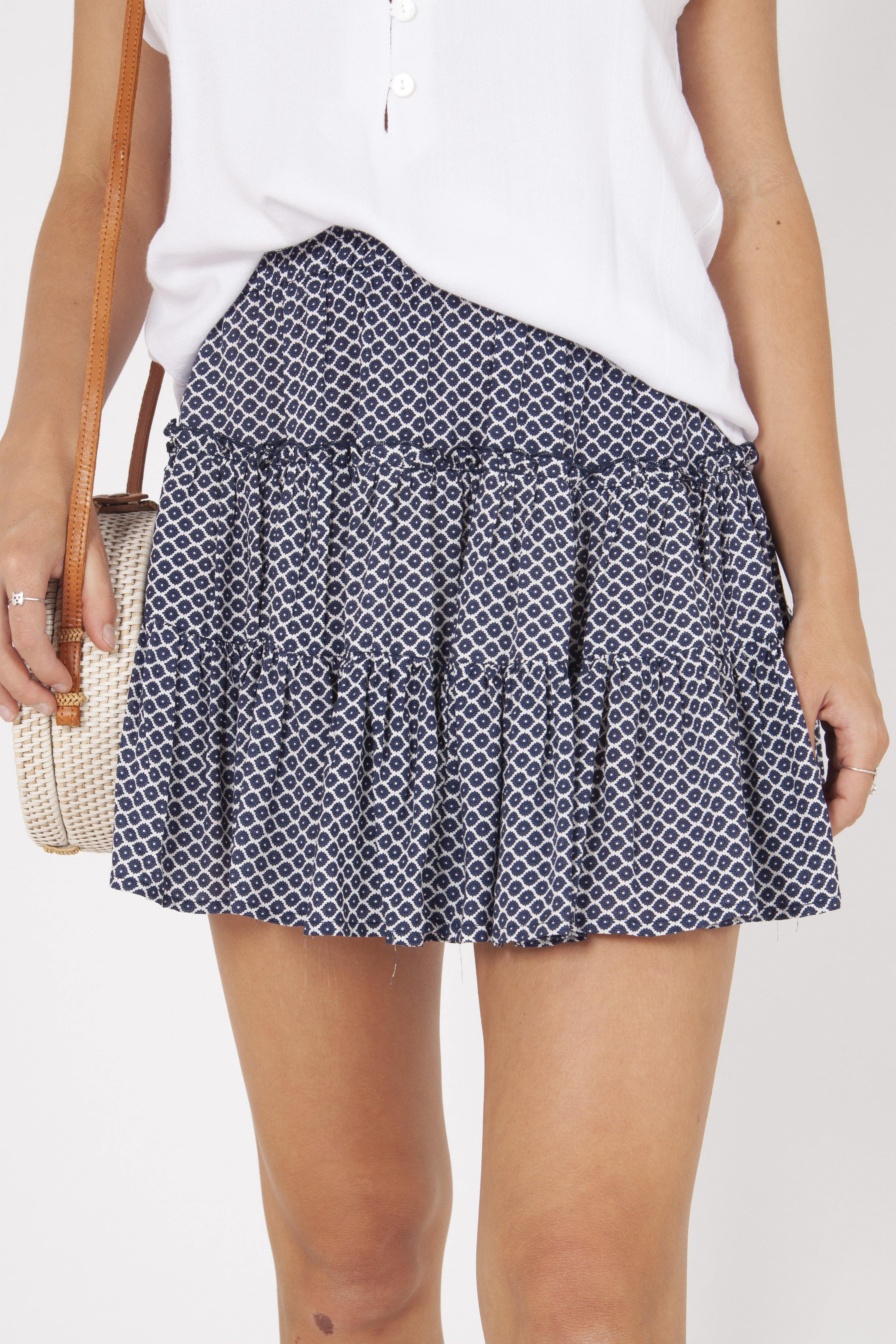 ELSA SKIRT - BLUE STAR
