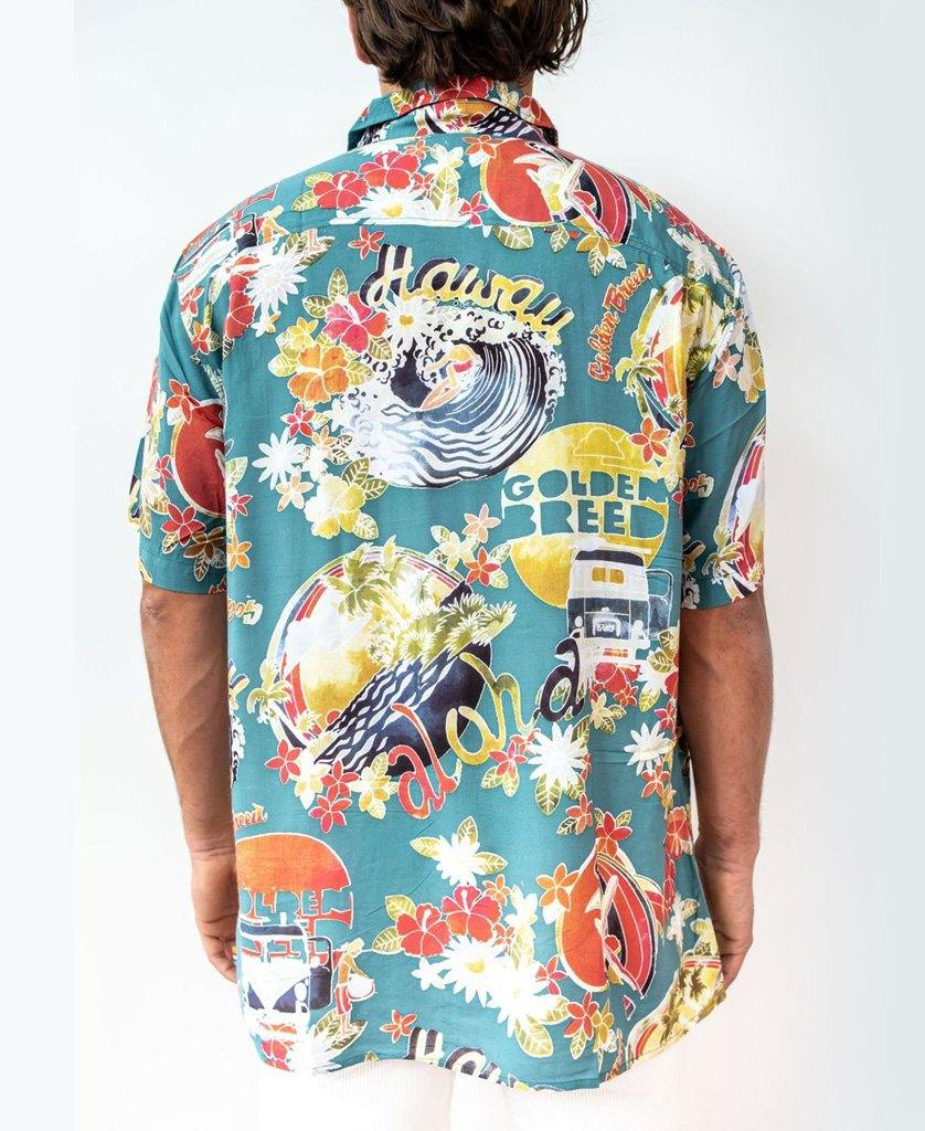 Maui Shirt | Surf Green