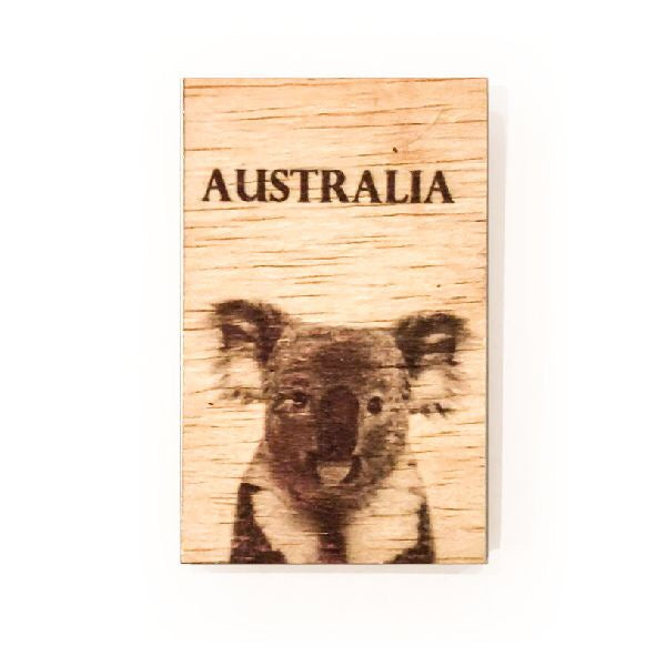 GB WOODEN MAGNETS
