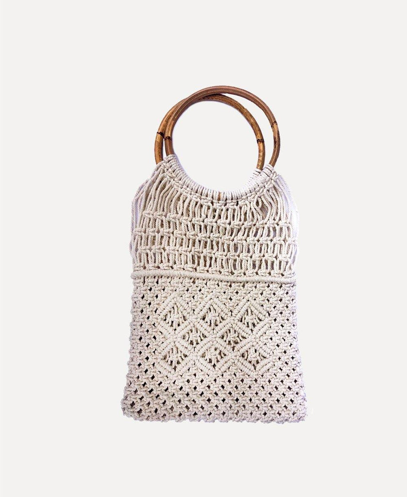 Rope Bag Rectangle | Natural
