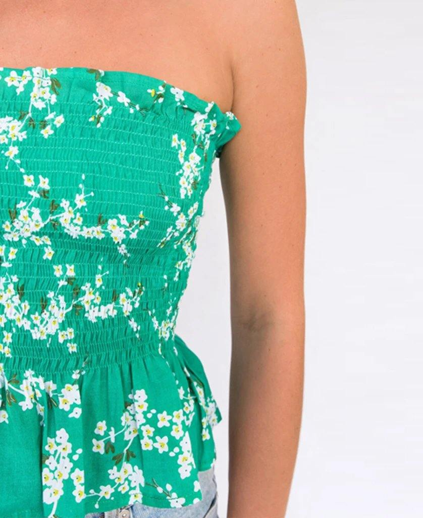 Lily Bandeau | Green Blossom