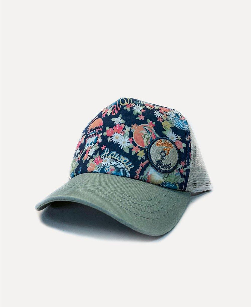 Maui Trucker Cap | Green