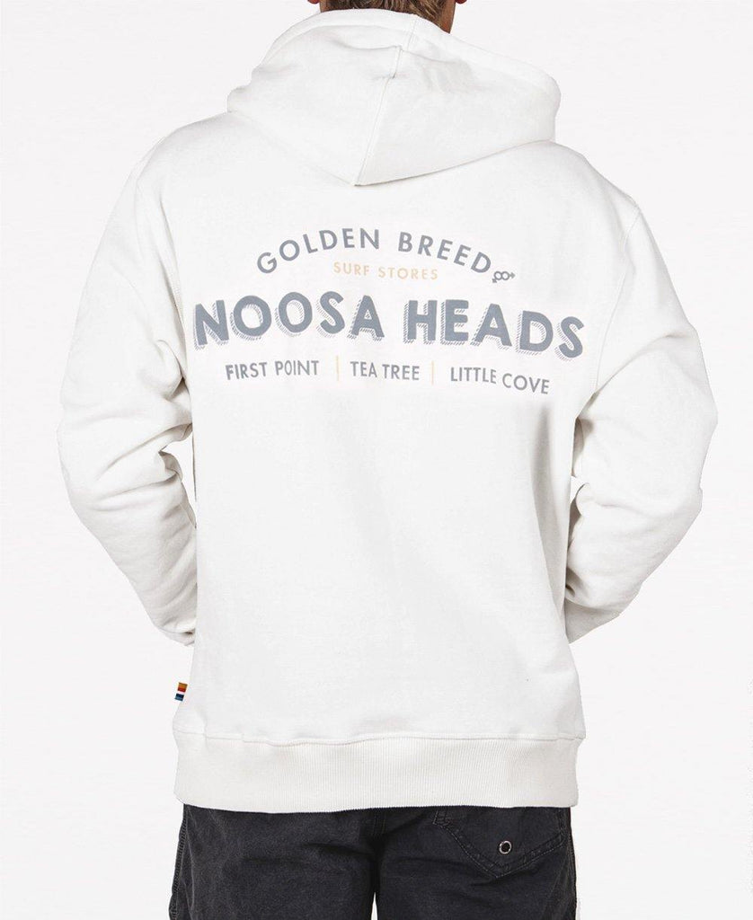 Noosa Old School Hoodie | Winter White