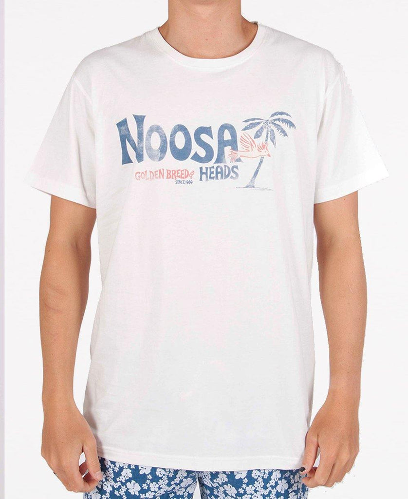 Noosa Palm Gang Tee | Off White