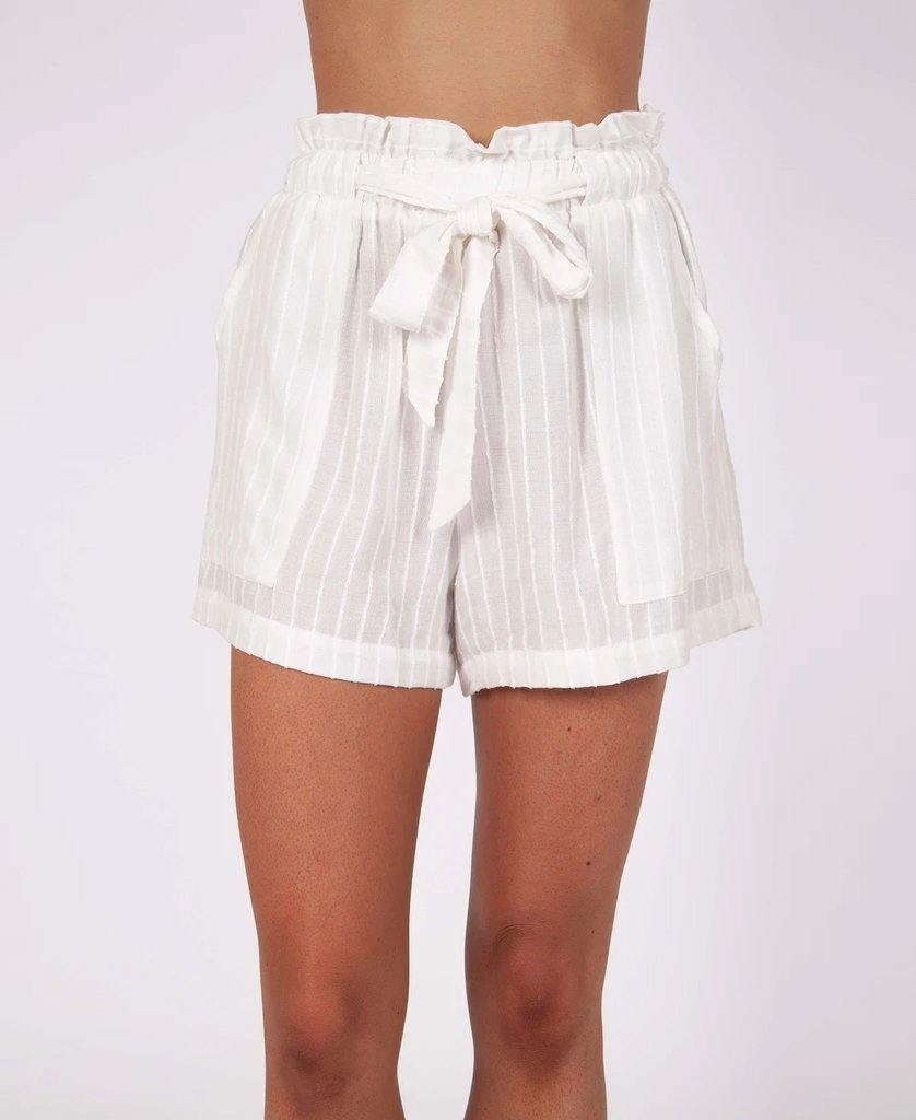 Paige Short | Stripe Linen