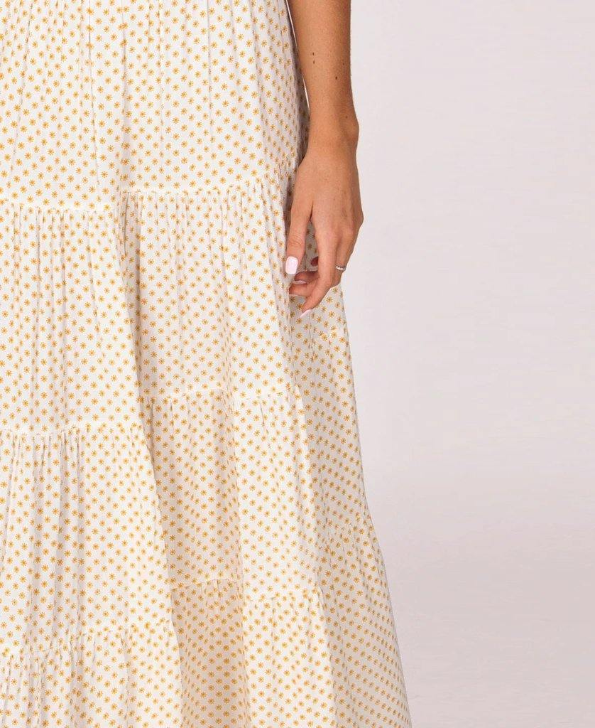 Peta Maxi Skirt | Sunflower Yellow