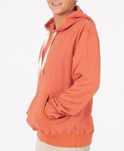 Classic Pop Over Hoodie | Burnt Brick