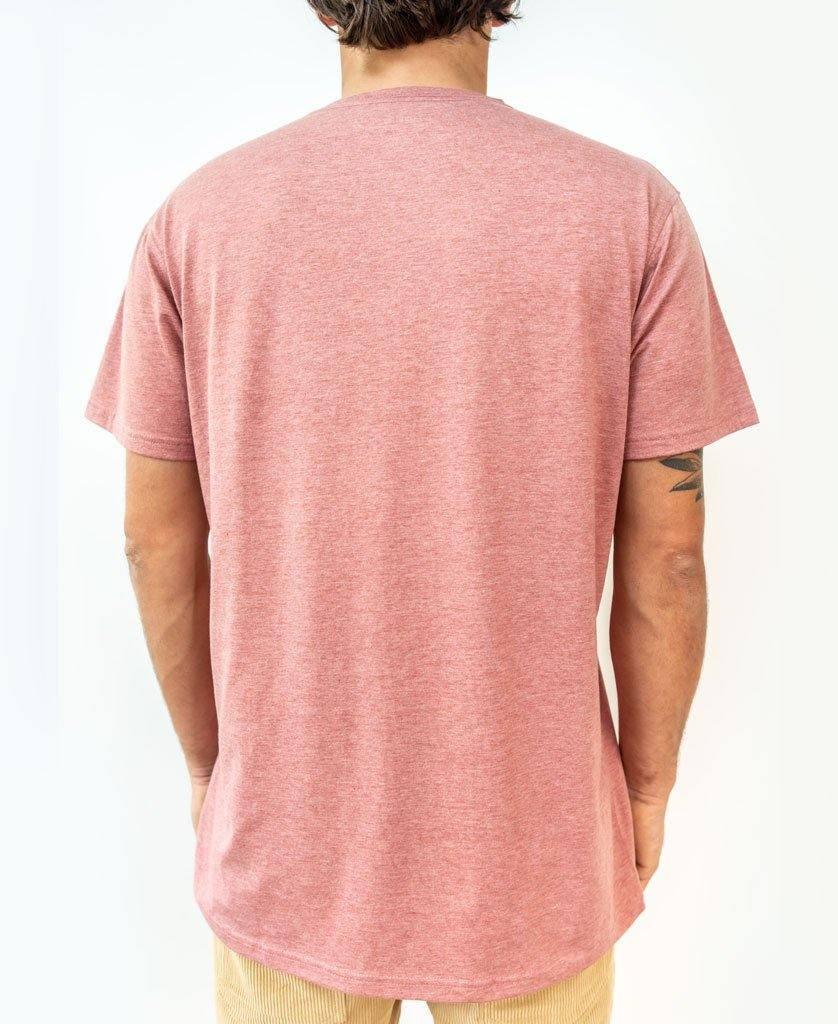 Deluxe Retro Surf Tee | Red Marle