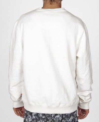 Retro Old School Windcheater | Off White