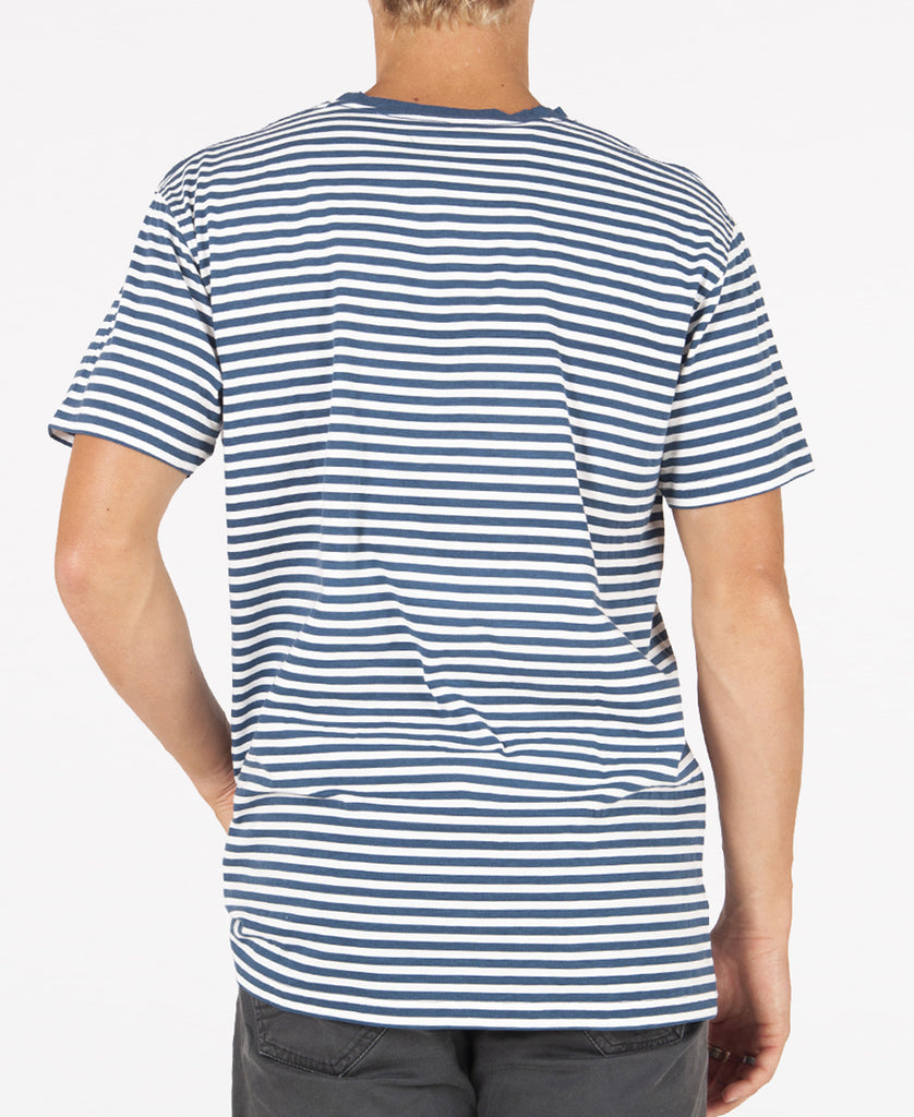 Rugby Stripe Tee | Denim